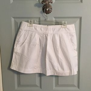 Zara white skirt with pockets